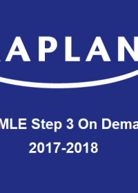 KAPLAN USMLE Step 3 Prep - On Demand 2017-2018 (Videos)