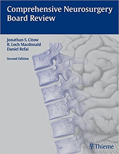 Comprehensive Neurosurgery Board Review, 2e (Original Publisher PDF)