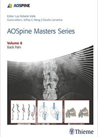 AOSpine Masters Series, Volume 8: Back Pain (Original Publisher PDF)