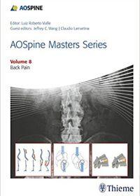 AOSpine Masters Series, Volume 8: Back Pain (Original Publisher PDF)