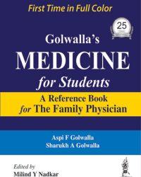 Golwalla's Medicine for Students, 25e (True PDF)