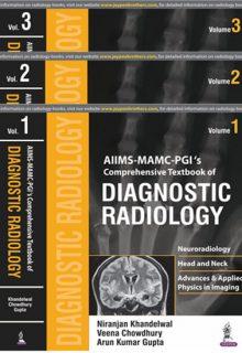 AIIMS-MAMC-PGI's Comprehensive Textbook of Diagnostic Radiology (3 Volumes), 1e (True PDF)