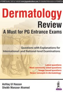 Dermatology Review: A Must for PG Entrance Exams, 1e (True PDF)