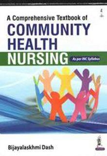A Comprehensive Textbook of Community Health Nursing, 1e (True PDF)