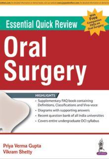Essential Quick Review: Oral Surgery, 1e (True PDF)