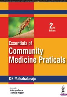 Essentials of Community Medicine Practicals, 2e (True PDF)
