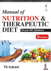 Books on nutrition and dietetics by indian authors pdf