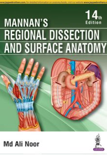 Mannan's Regional Dissection and Surface Anatomy, 14e (True PDF)