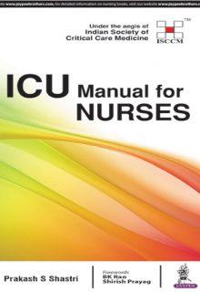 ICU Manual for Nurses, 1e (True PDF)
