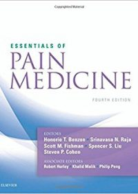 Essentials of Pain Medicine, 4e (Original Publisher PDF)