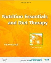 Nutrition Essentials and Diet Therapy, 11e (Original Publisher PDF)