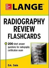 LANGE Radiography Review Flashcards, 1e (Original Publisher PDF)