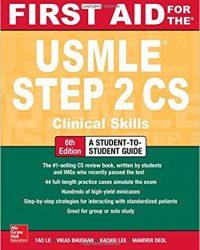 First Aid for the USMLE Step 2 CS, 6e (Original Publisher PDF)