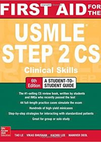 First Aid for the USMLE Step 2 CS, 6e (Original Publisher PDF)