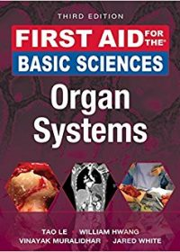 First Aid for the Basic Sciences: Organ Systems, 3e (First Aid Series) (Original Publisher PDF)