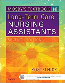 Mosby's Textbook for Long-Term Care Nursing Assistants, 7e (Original Publisher PDF)