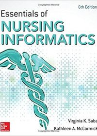 Essentials of Nursing Informatics, 6e (Original Publisher PDF)