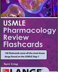 USMLE Pharmacology Review Flash Cards, 1e (Original Publisher PDF)
