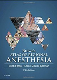 Brown's Atlas of Regional Anesthesia, 5e (Original Publisher PDF)