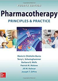 Pharmacotherapy Principles and Practice, 4e (Original Publisher PDF)