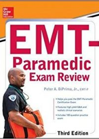 McGraw-Hill Education's EMT-Paramedic Exam Review, 3e (Original Publisher PDF)
