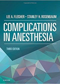 Complications in Anesthesia, 3e (Original Publisher PDF)