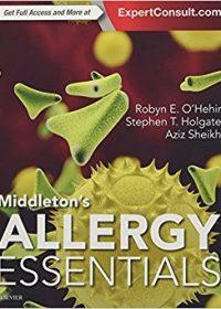 Middleton's Allergy Essentials, 1e (Original Publisher PDF)
