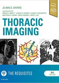 Thoracic Imaging The Requisites, 3e (Original Publisher PDF)