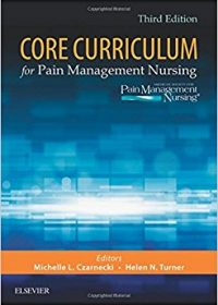 Core Curriculum for Pain Management Nursing, 3e (Original Publisher PDF)