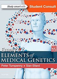 Emery's Elements of Medical Genetics, 15e (Original Publisher PDF)