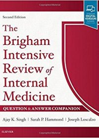 The Brigham Intensive Review of Internal Medicine Question & Answer Companion, 2e (Original Publisher PDF)