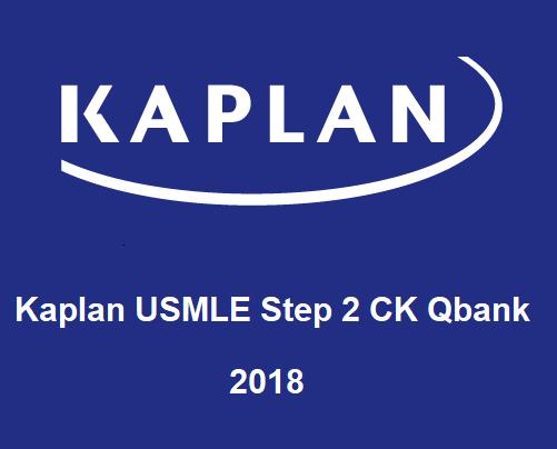 Kaplan USMLE Step 2 CK 2018 Qbank (Testbanks)