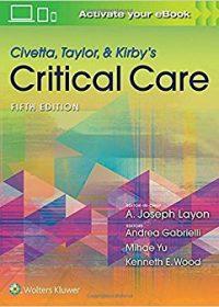 Civetta, Taylor, & Kirby's Critical Care Medicine, 5e (EPUB)