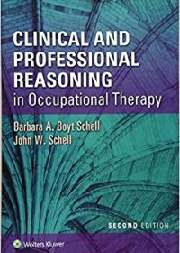 Clinical and Professional Reasoning in Occupational Therapy, 2e (EPUB)