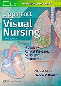 Lippincott Visual Nursing: A Guide to Clinical Diseases, Skills, and Treatments, 3e (EPUB)