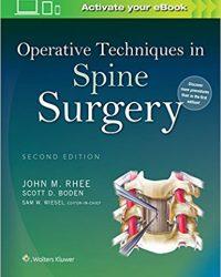 Operative Techniques in Spine Surgery, 2e (EPUB)