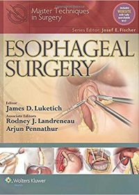 Master Techniques in Surgery: Esophageal Surgery, 1e (EPUB)