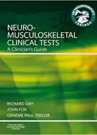Neuromusculoskeletal Clinical Tests A Clinician's Guide, 1e (Original Publisher PDF)