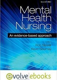 Mental Health Nursing Text: An Evidence Based Approach, 2e (Original Publisher PDF)
