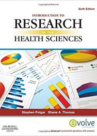 Introduction to Research in the Health Sciences, 6e (Original Publisher PDF)