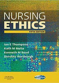 Nursing Ethics, 5e (Original Publisher PDF)