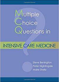 Multiple Choice Questions in Intensive Care Medicine, 1e (Original Publisher PDF)