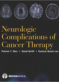 Neurologic Complications of Cancer Therapy, 1e (Original Publisher PDF)