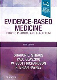 Evidence-Based Medicine: How to Practice and Teach EBM, 5e (Original Publisher PDF)