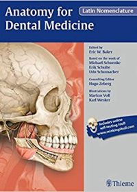 Anatomy for Dental Medicine, Latin Nomenclature, 1e (Original Publisher PDF)