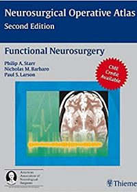 Functional Neurosurgery, 2e (Original Publisher PDF)