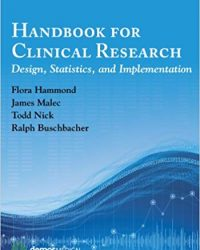 Handbook for Clinical Research: Design, Statistics, and Implementation, 1e (EPUB)