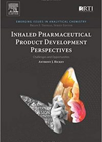Inhaled Pharmaceutical Product Development Perspectives: Challenges and Opportunities, 1e (Original Publisher PDF)