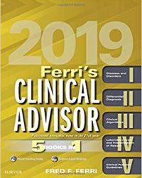 Ferri's Clinical Advisor 2019: 5 Books in 1, 1e (True PDF)