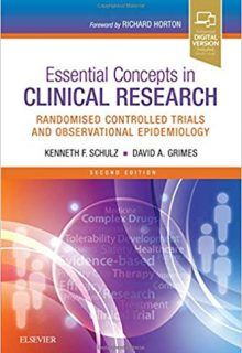 Essential Concepts in Clinical Research: Randomised Controlled Trials and Observational Epidemiology, 2e (Original Publisher PDF)